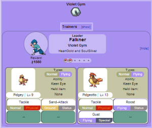Gym Leader Falkner (Violet City)